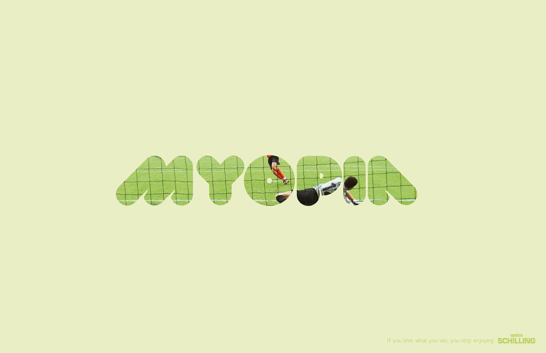 Ópticas Schilling Print Ad -  Myopia