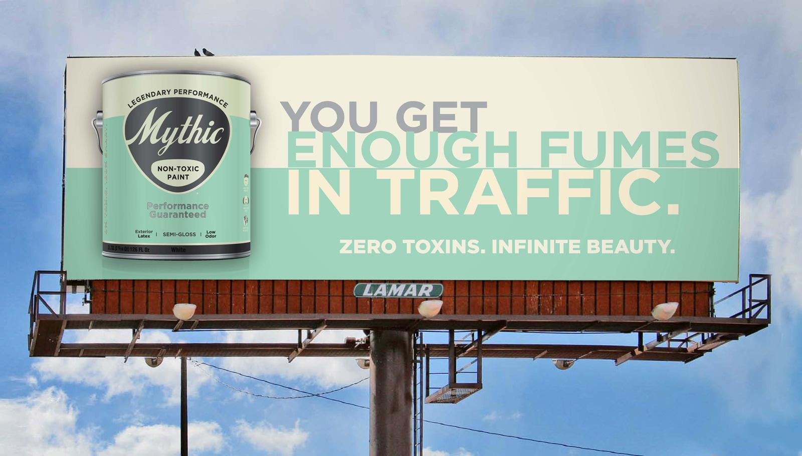 Mythic Outdoor Ad -  Fumes