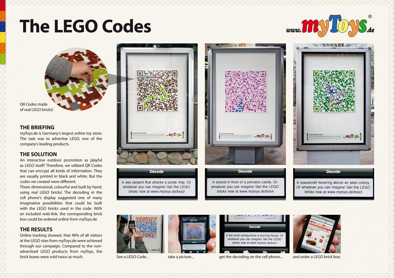 mytoy Direct Ad -  Lego brick boxes