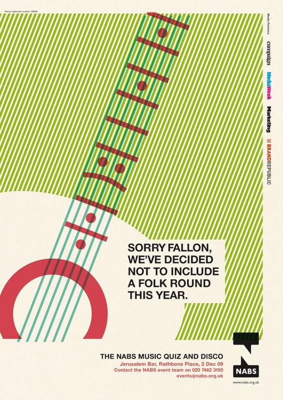 NABS Print Ad -  Folk