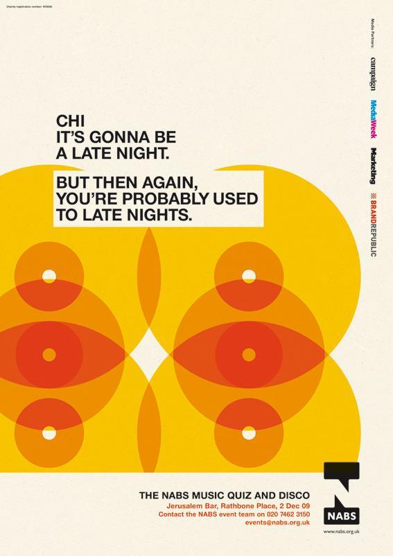 NABS Print Ad -  Late nights