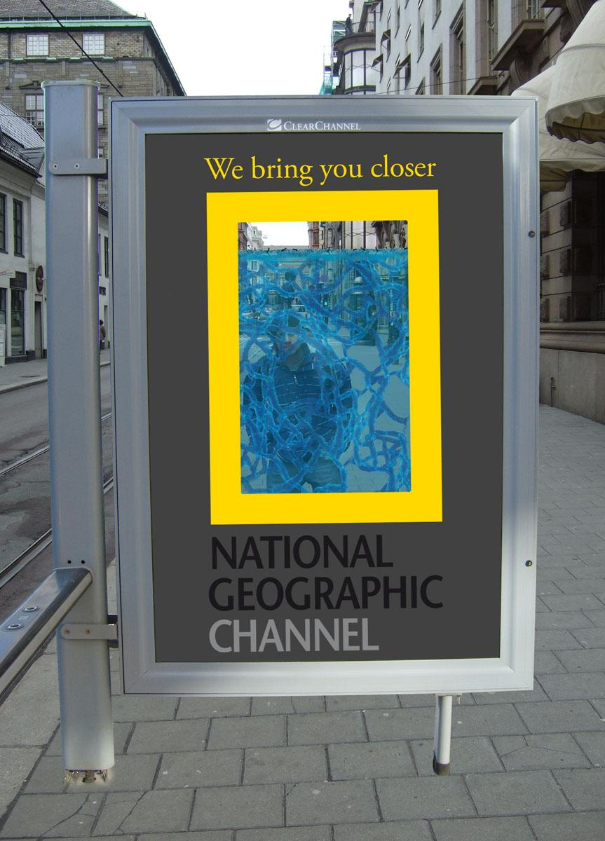 National Geographic Ambient Ad -  Ant habitat