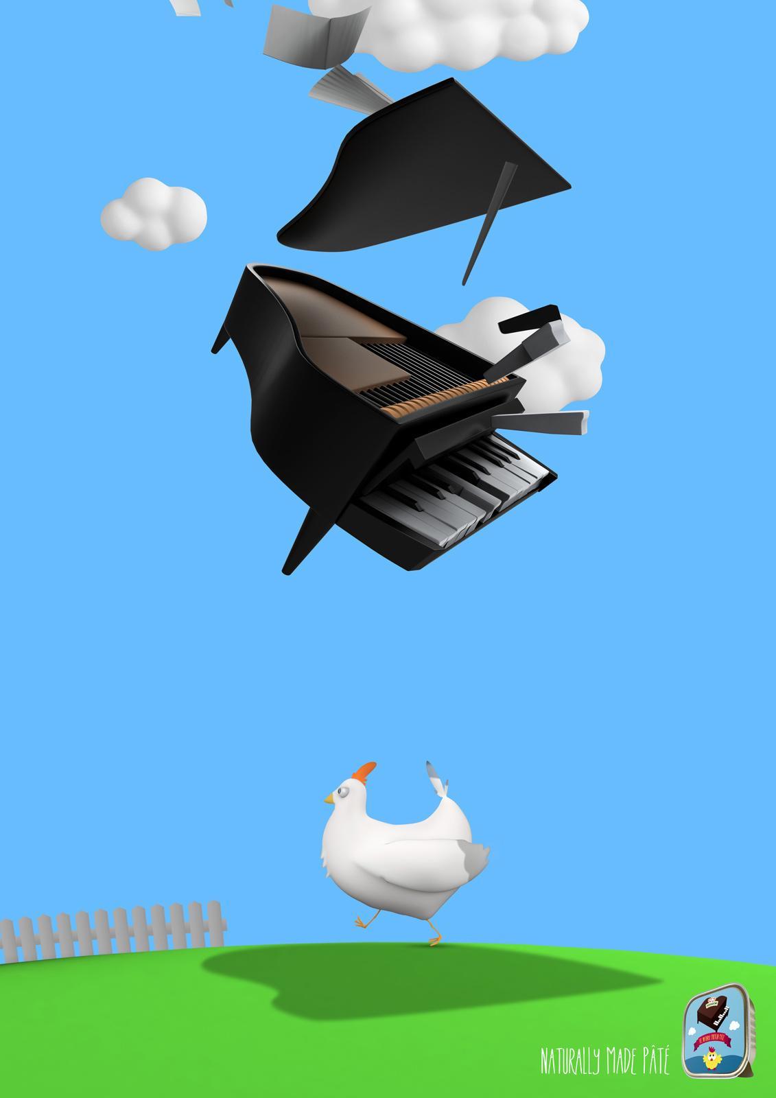 Pekabesko Print Ad -  Chicken