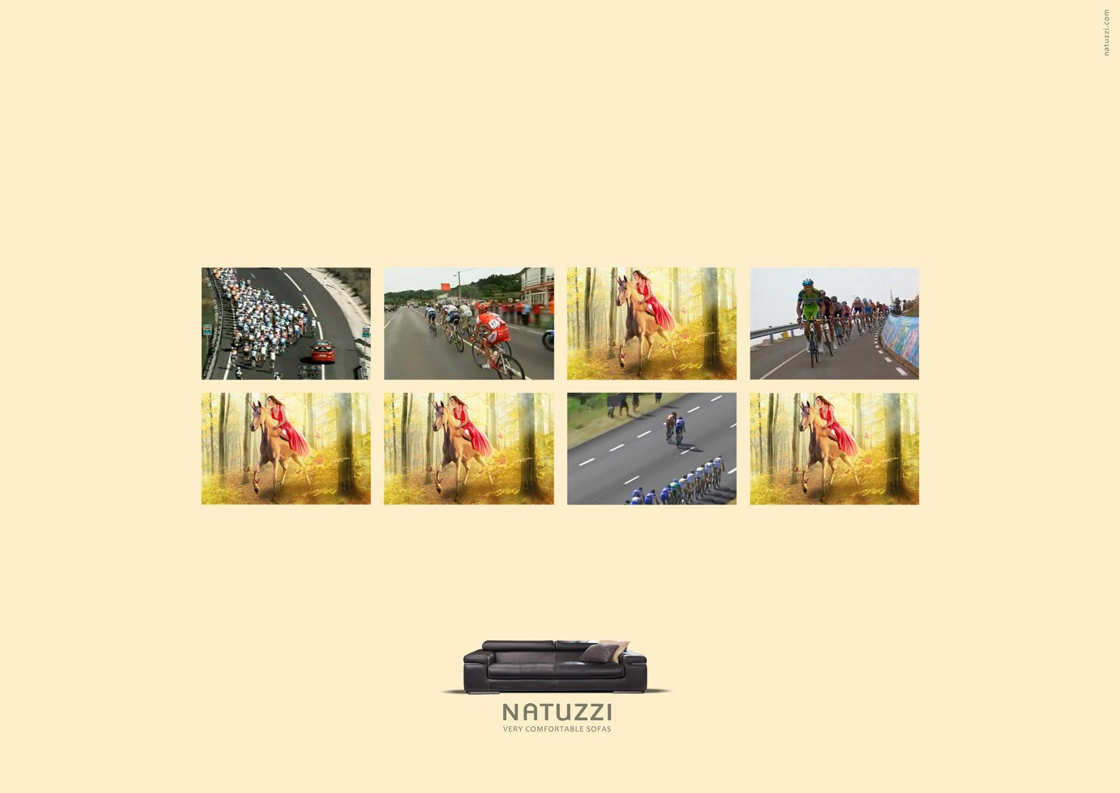 Natuzzi Print Ad -  Cycling