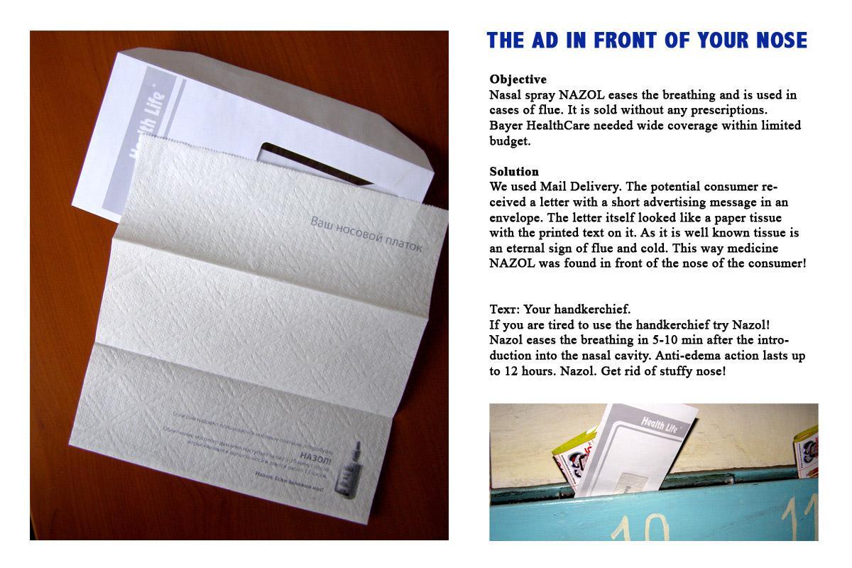 Nazol Direct Ad -  Your handkerchief