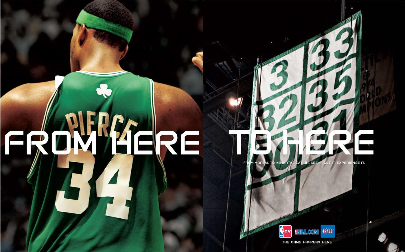 NBA Digital Print Ad -  Immortalization