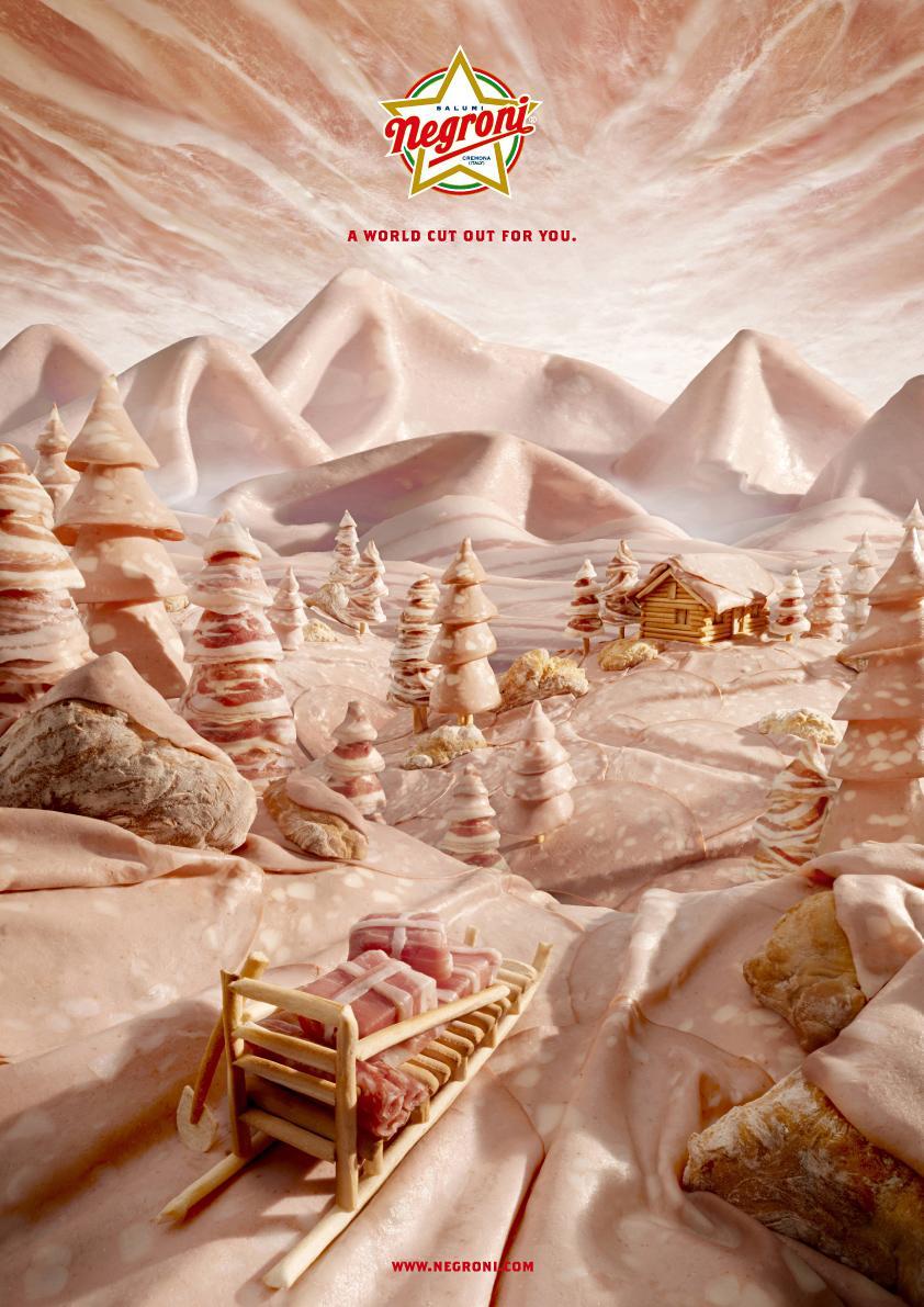 Negroni Print Ad -  Snow