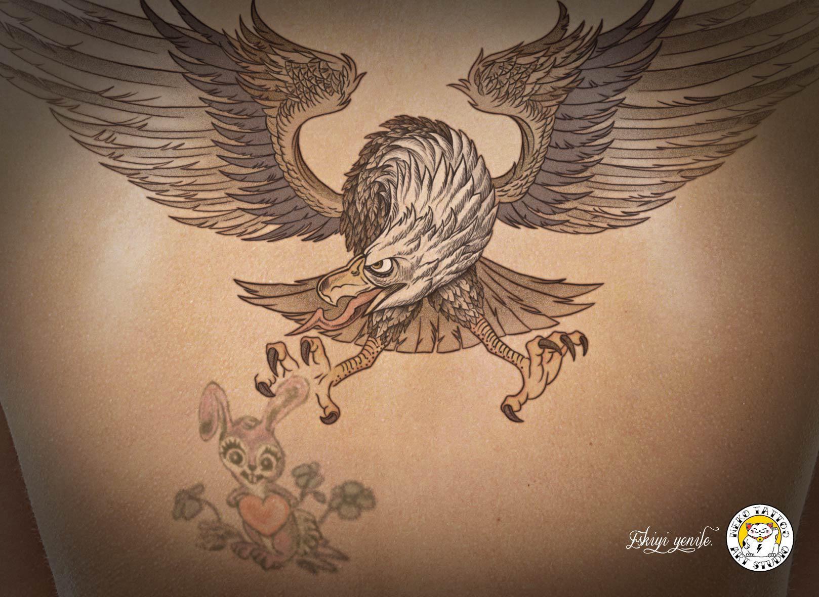 Neko Tattoo & Art Studio Print Ad -  Eagle