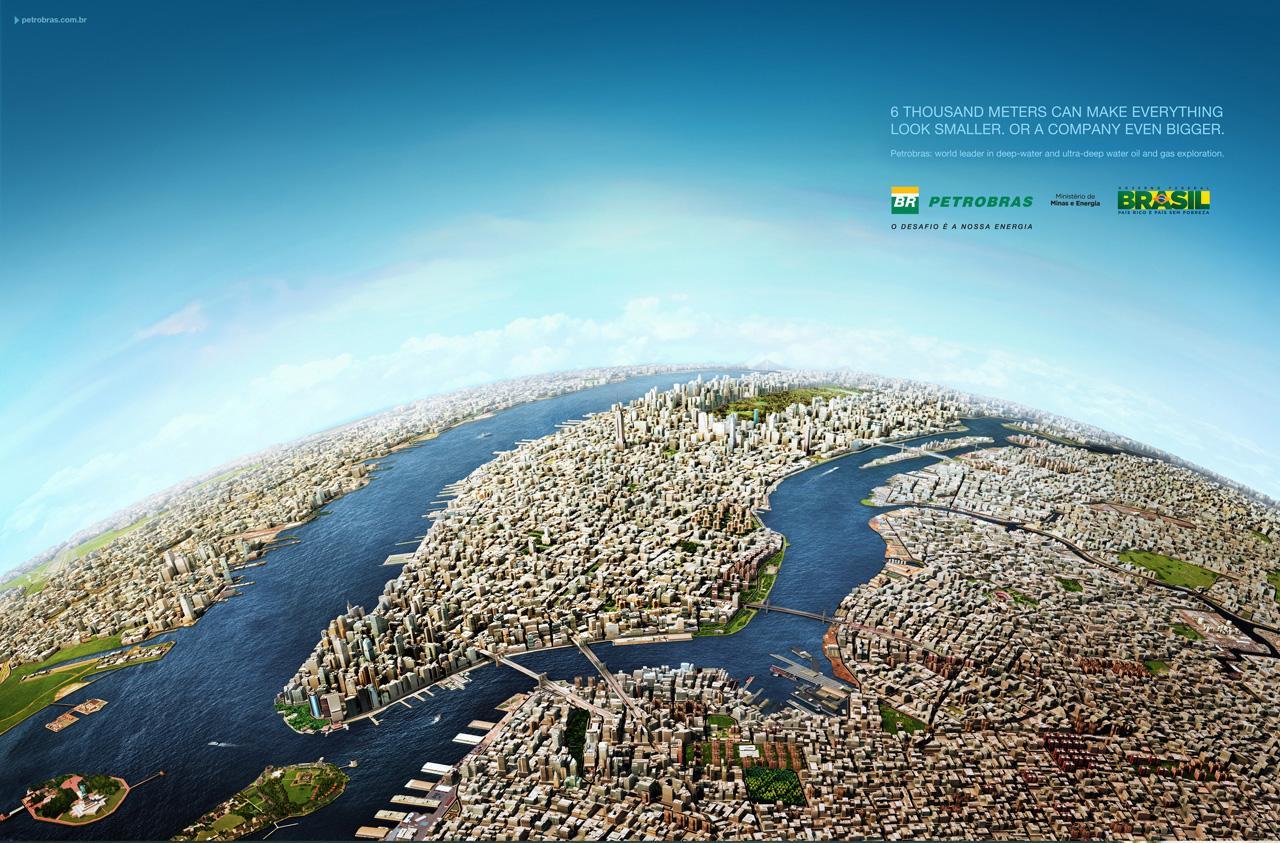Petrobras Print Ad -  New York