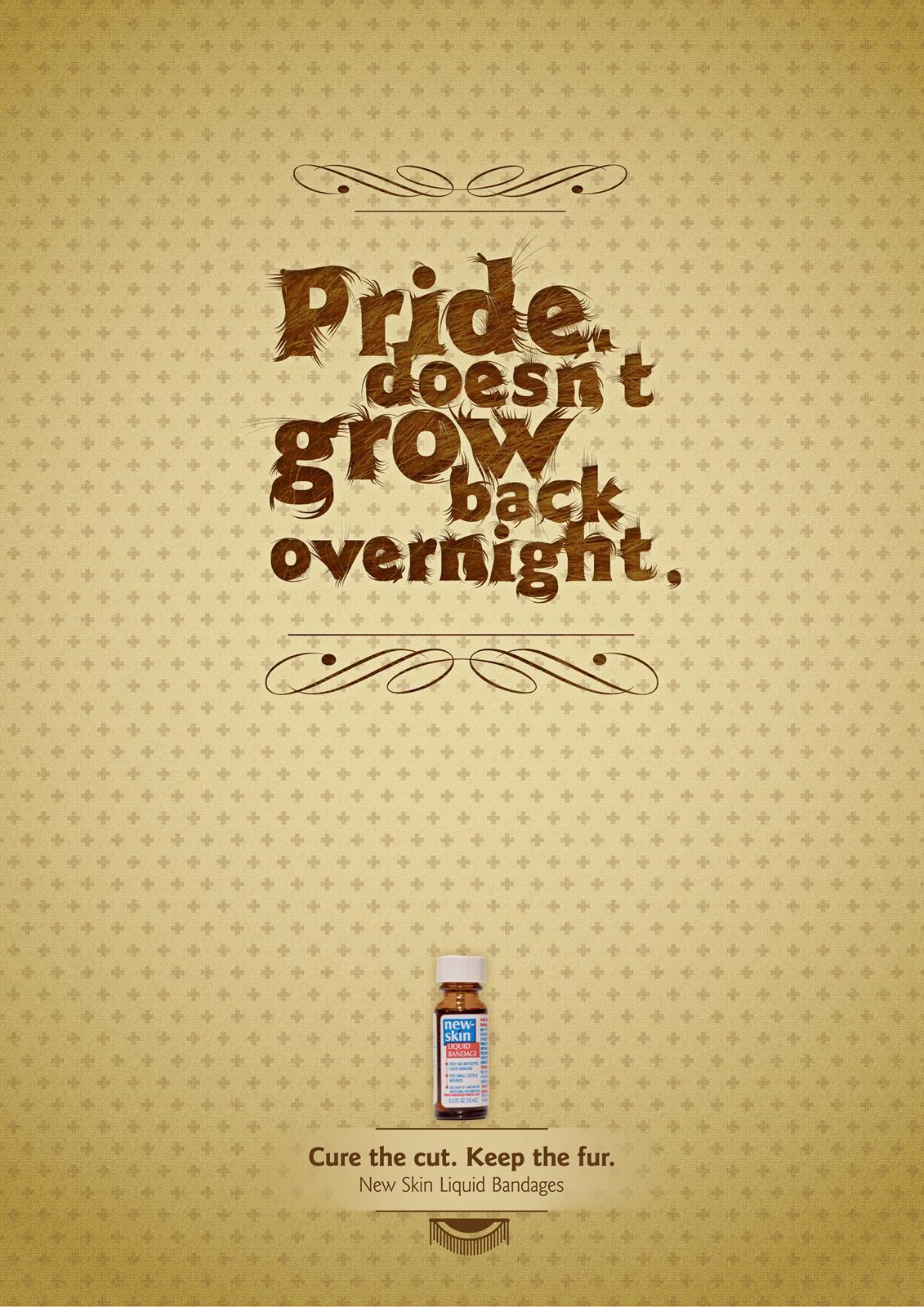 New-Skin Print Ad -  Pride