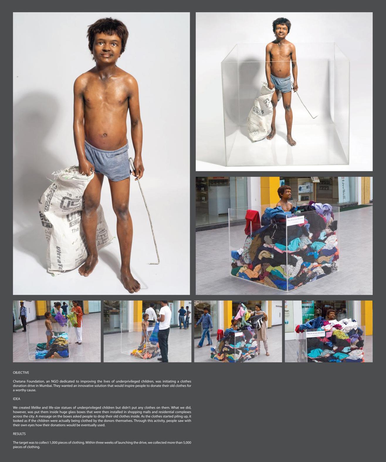 Chetana Ambient Ad -  Cloth Donation, 1