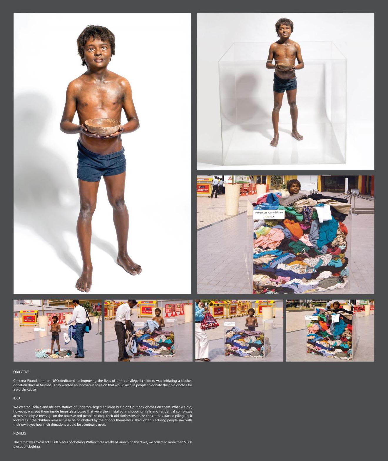 Chetana Ambient Ad -  Cloth Donation, 2