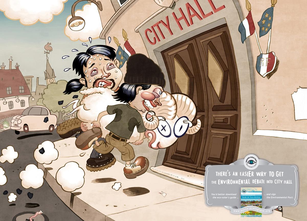 Nicolas Hulot Foundation Print Ad -  Ram