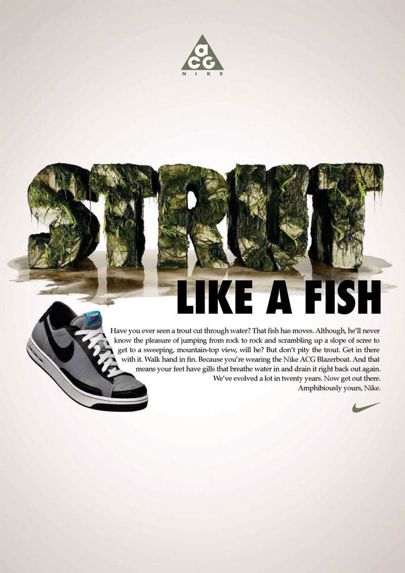 Nike Print Ad -  Strut
