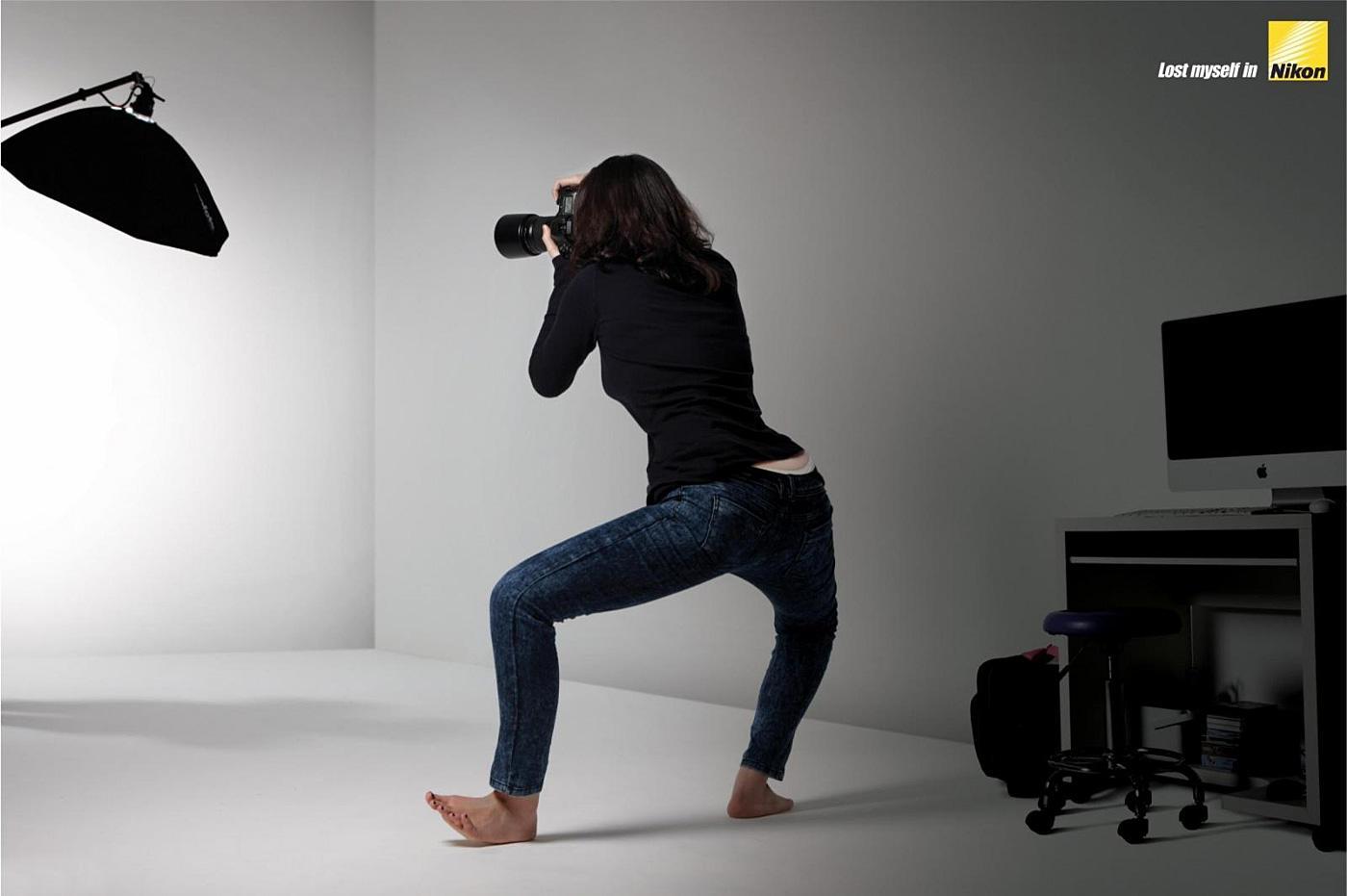 Nikon Print Ad -  Studio