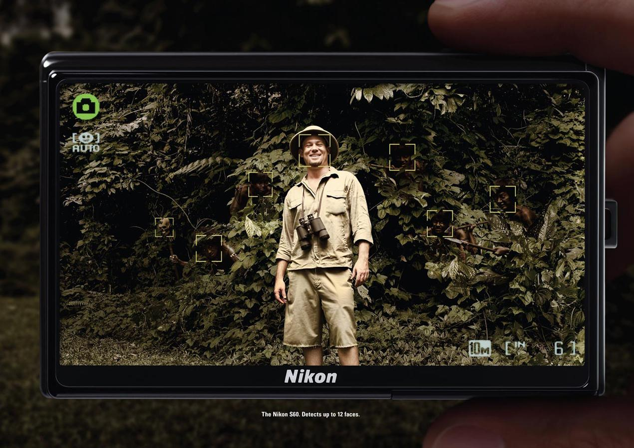 Nikon Print Ad -  Forest