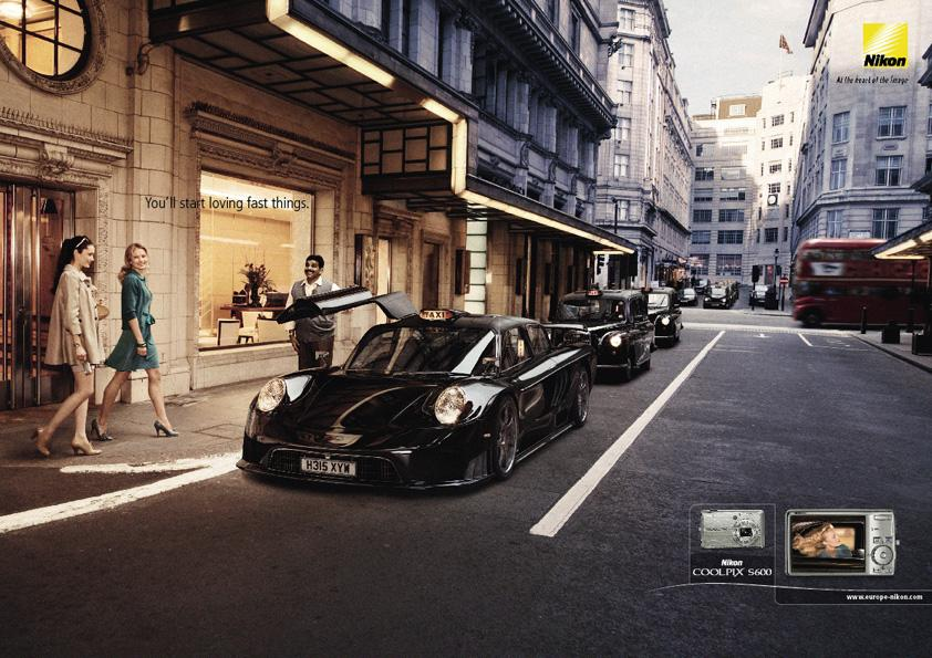 Nikon Print Ad -  Taxi
