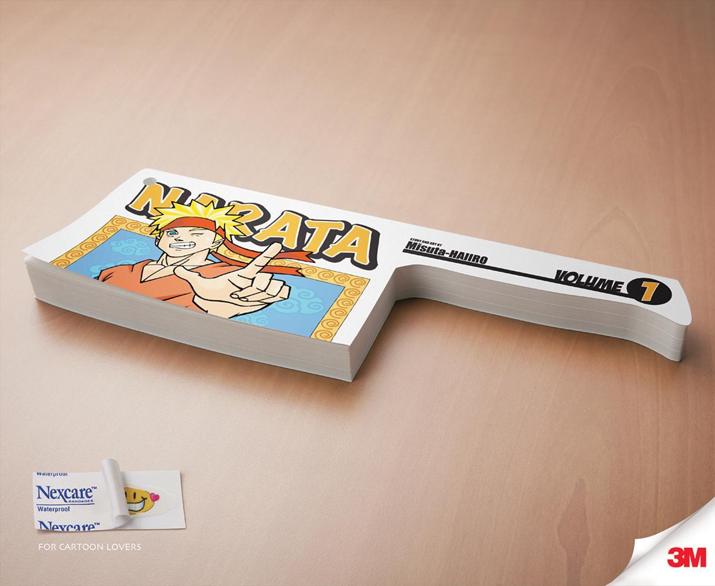 3M Print Ad -  Paper Cut, Ninja