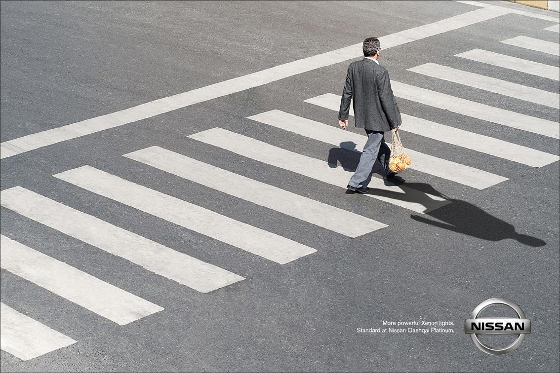 Nissan Print Ad -  Shadow