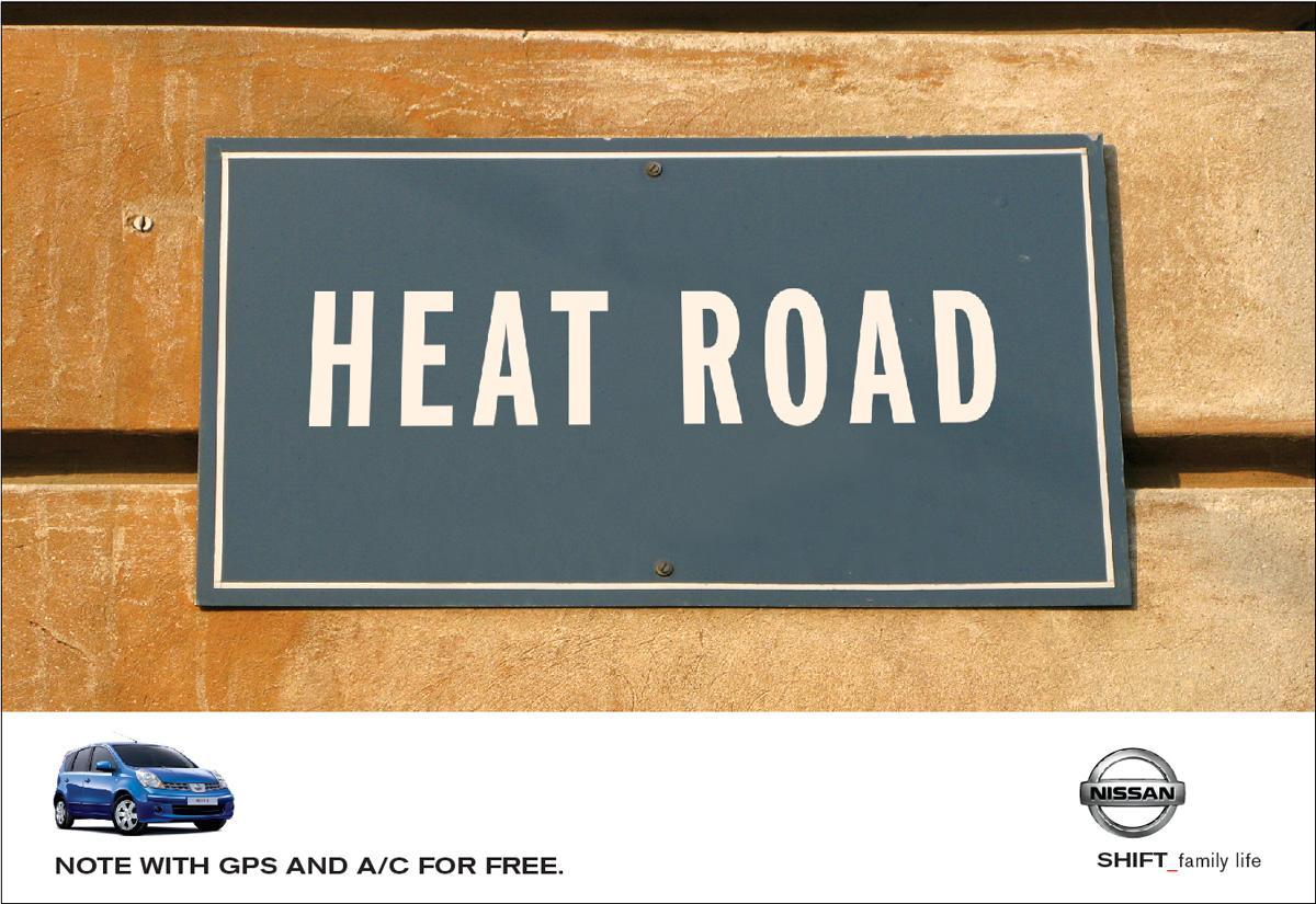 Nissan Print Ad -  Heat
