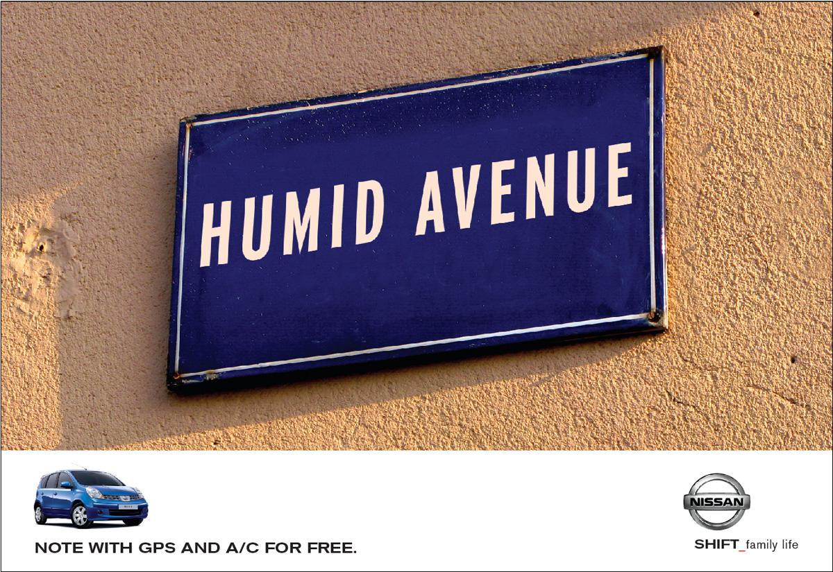 Nissan Print Ad -  Humid