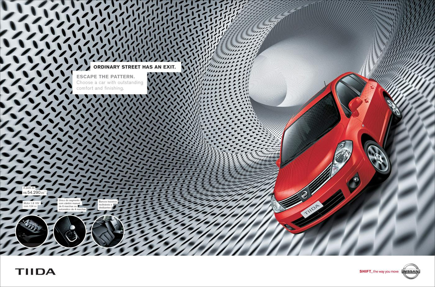 Nissan Print Ad -  Tiida
