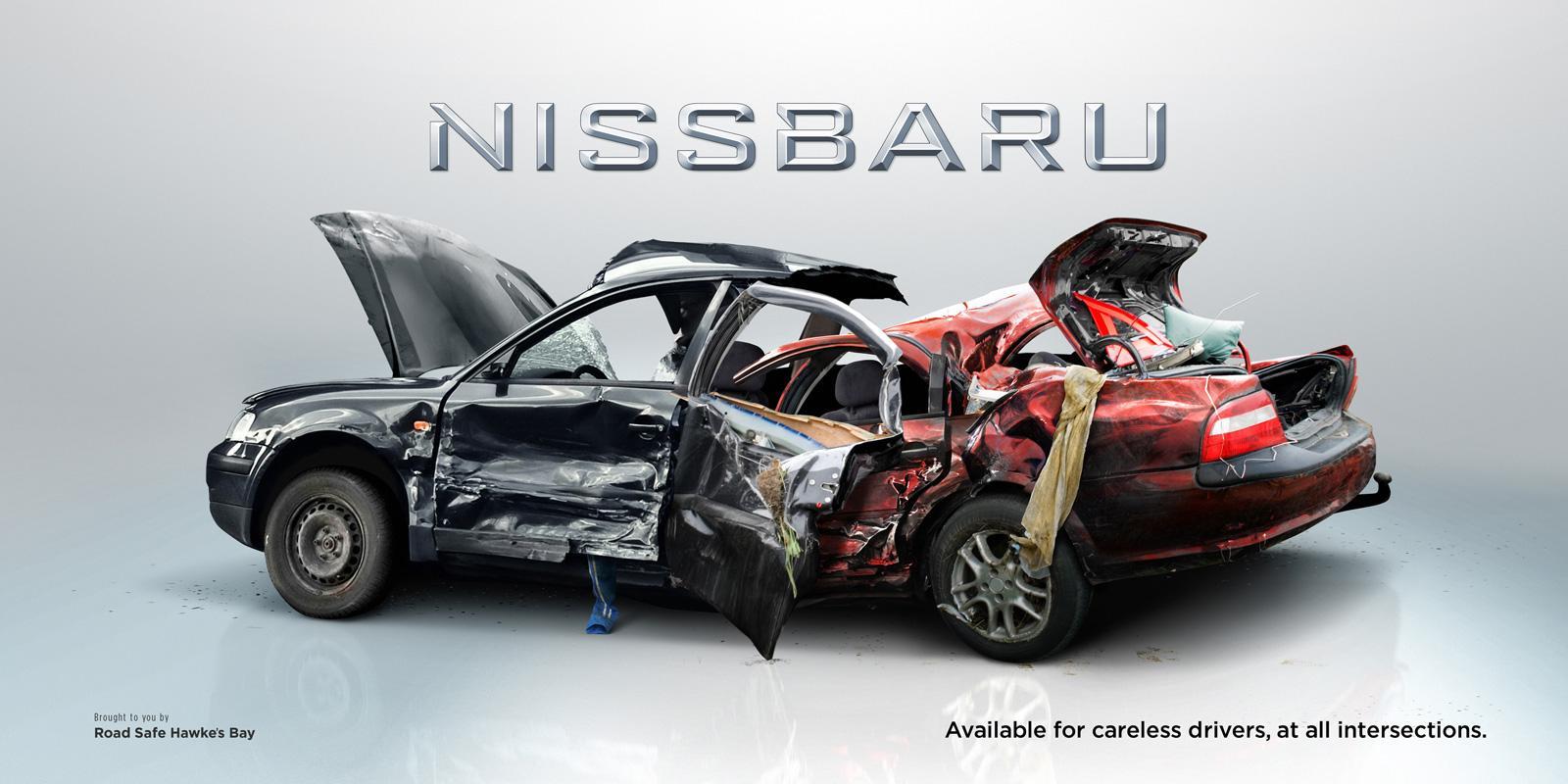 Road Safe Hawkes Bay Print Ad -  Nissbaru