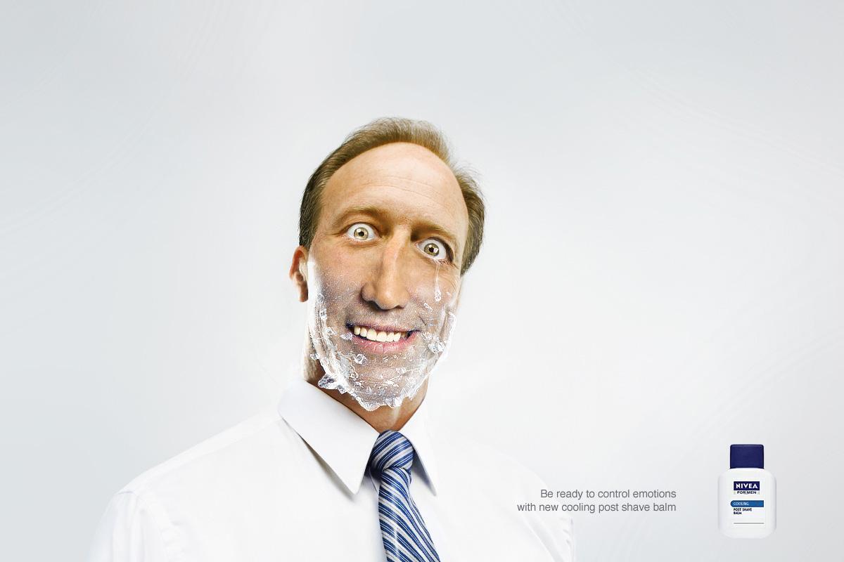 Nivea Print Ad -  New cooling