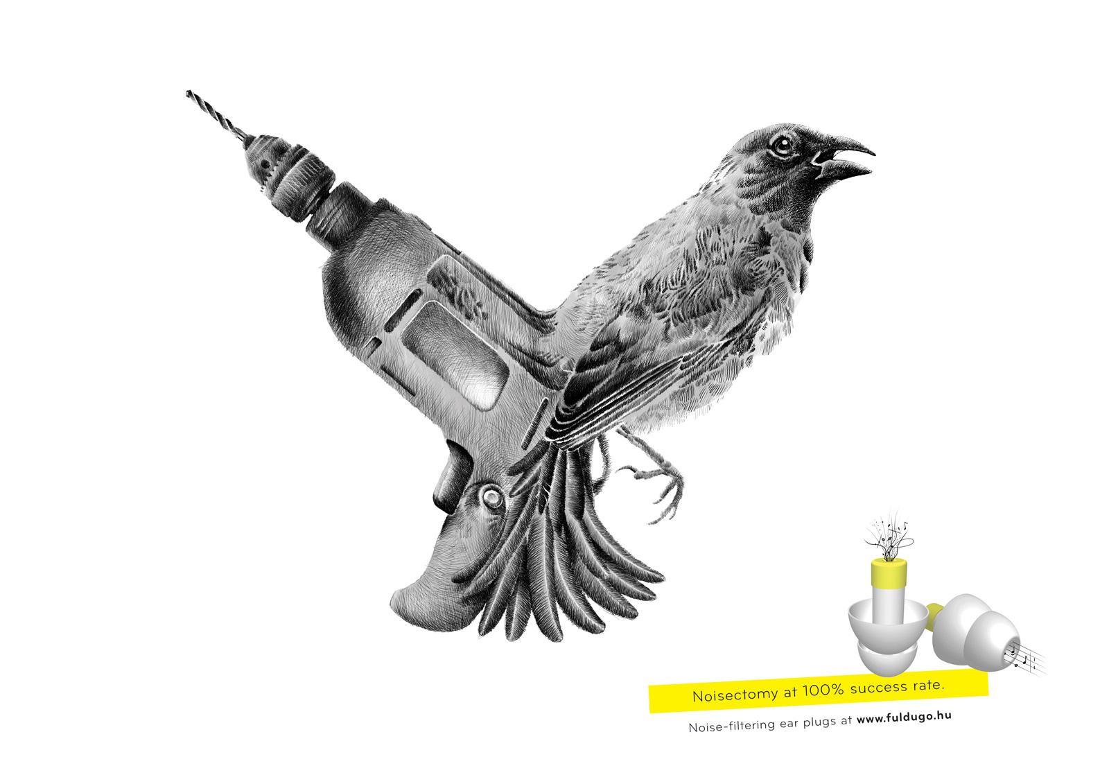 Fuldugo.hu Print Ad -  Noisectomy