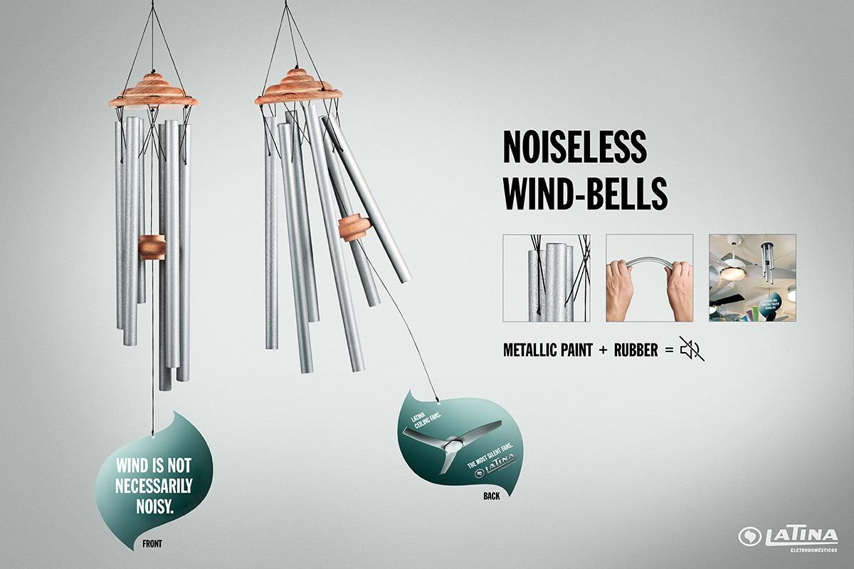 Latina Ambient Ad -  Noiseless wind-bells