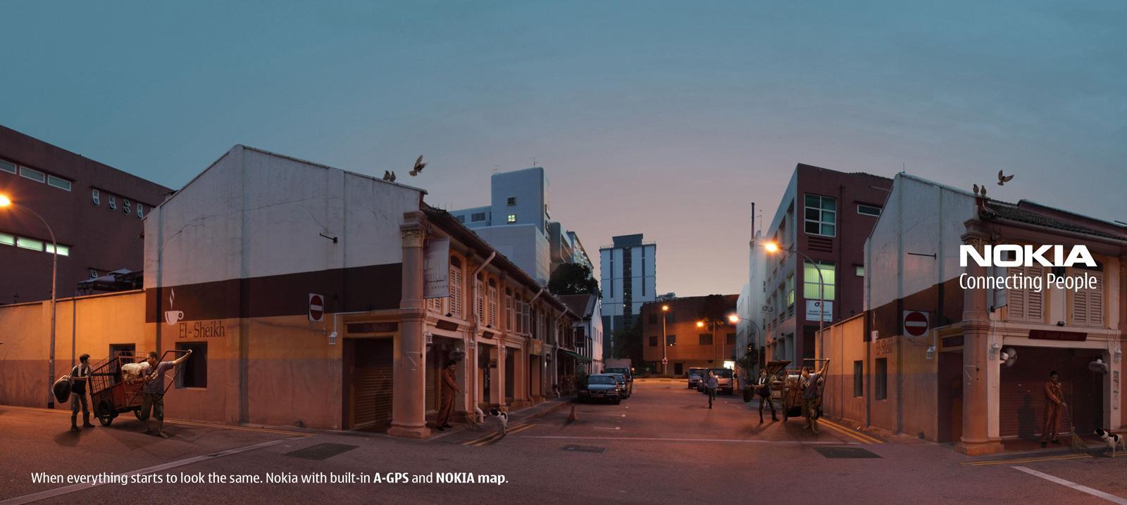Nokia Outdoor Ad -  Morning