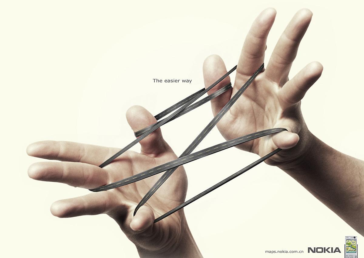 Nokia Print Ad -  String