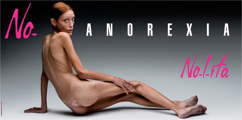 No-l-ita Print Ad -  Isabelle Caro, 1