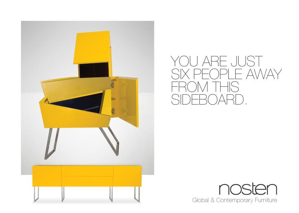 Nosten Print Ad -  Yellow