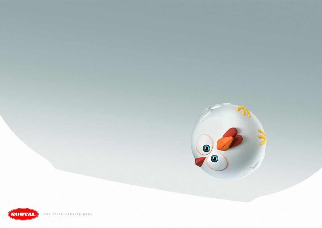 Nouval Print Ad -  Chicken