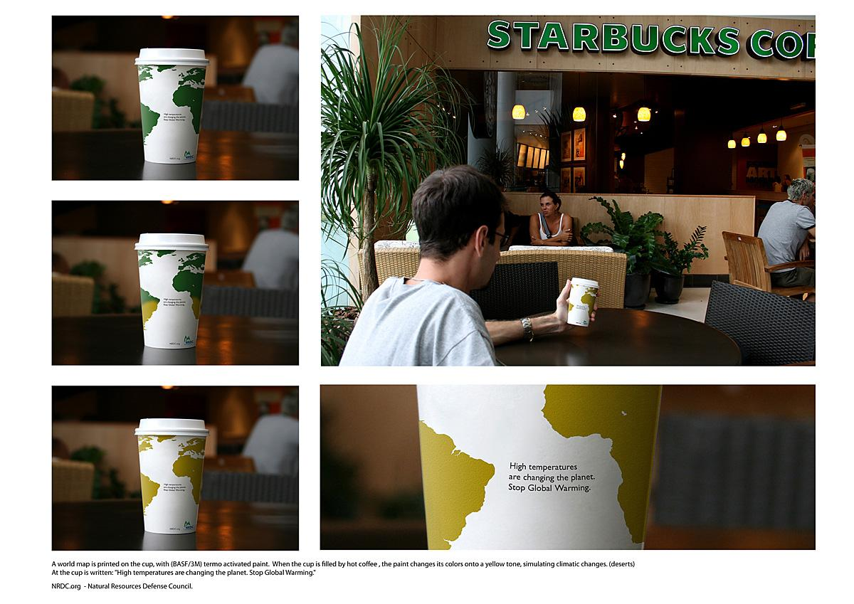 NRDC Ambient Ad -  Cup