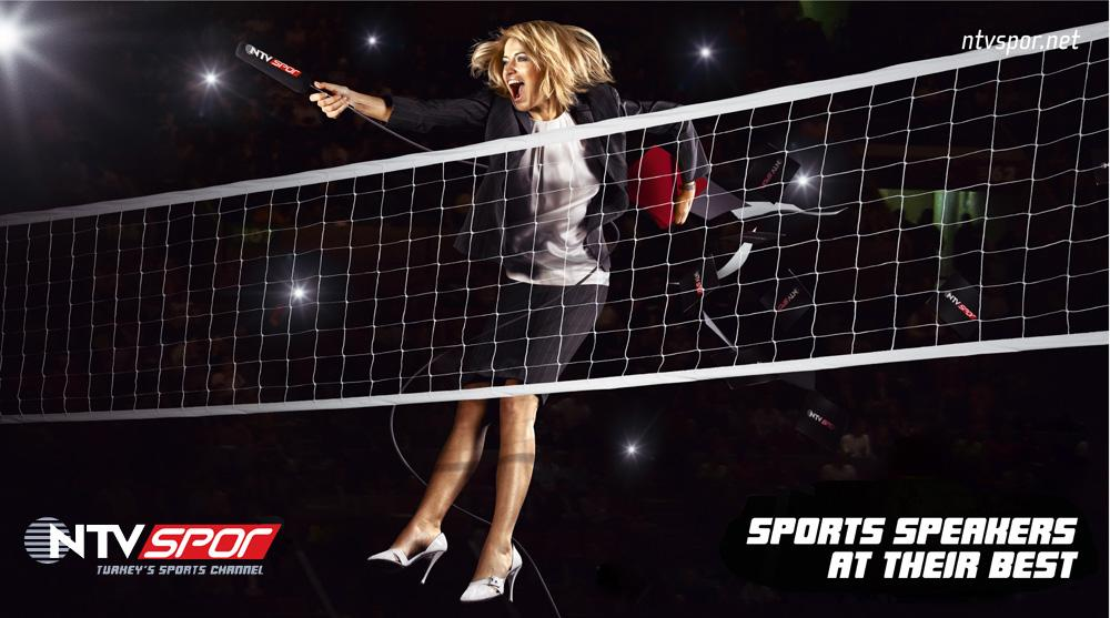 NTV Spor Print Ad -  Sports speakers at their best, 1
