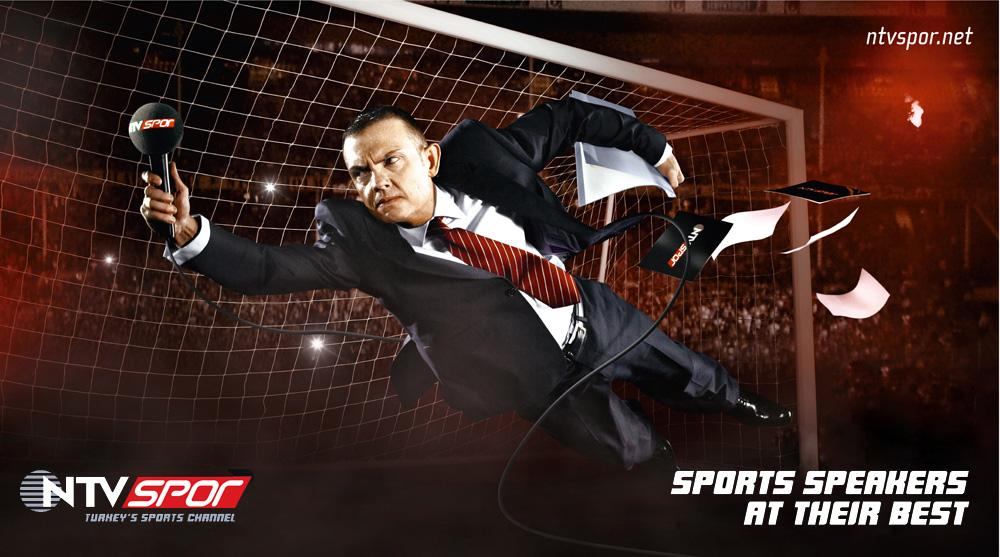 NTV Spor Print Ad -  Sports speakers at their best, 2