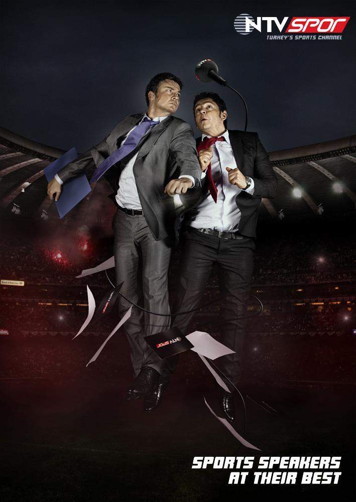 NTV Spor Print Ad -  Sports speakers at their best, 4