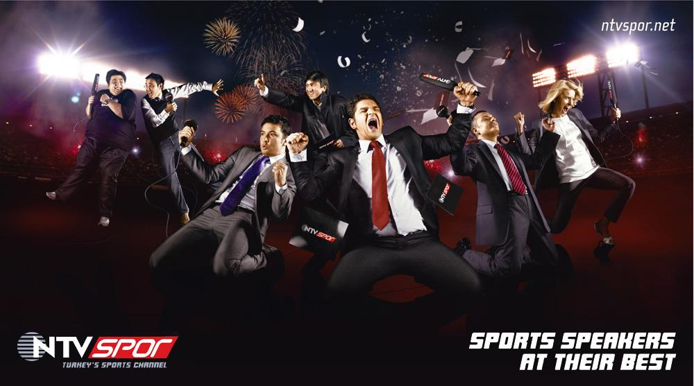 NTV Spor Print Ad -  Sports speakers at their best, 5