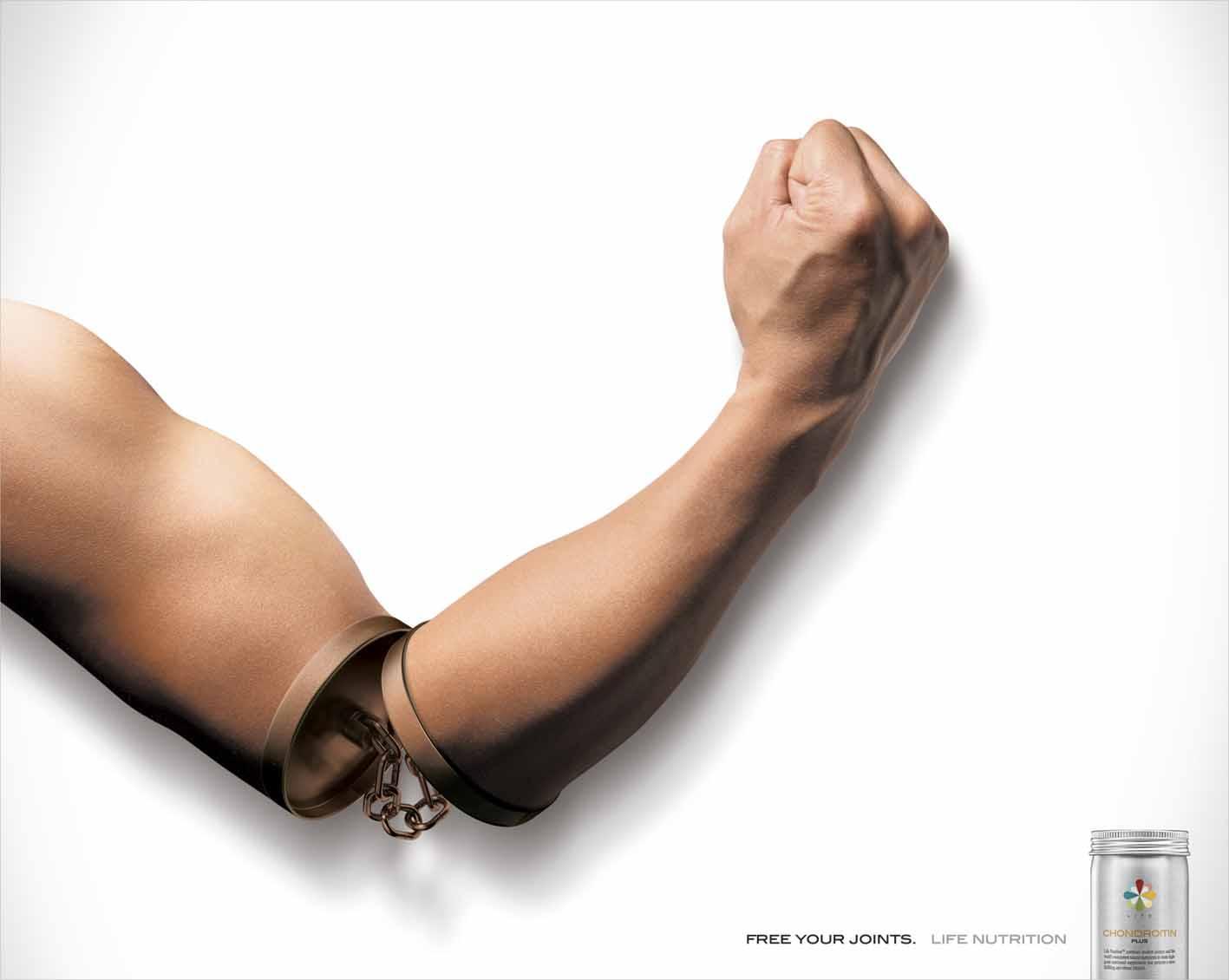 Life Nutrition Print Ad -  Joint Nunchaku, Arm