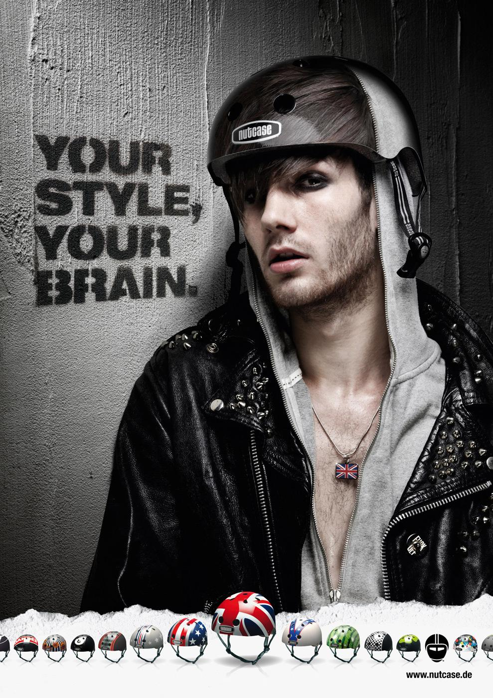 Nutcase Print Ad -  Your Style, but safe, 5