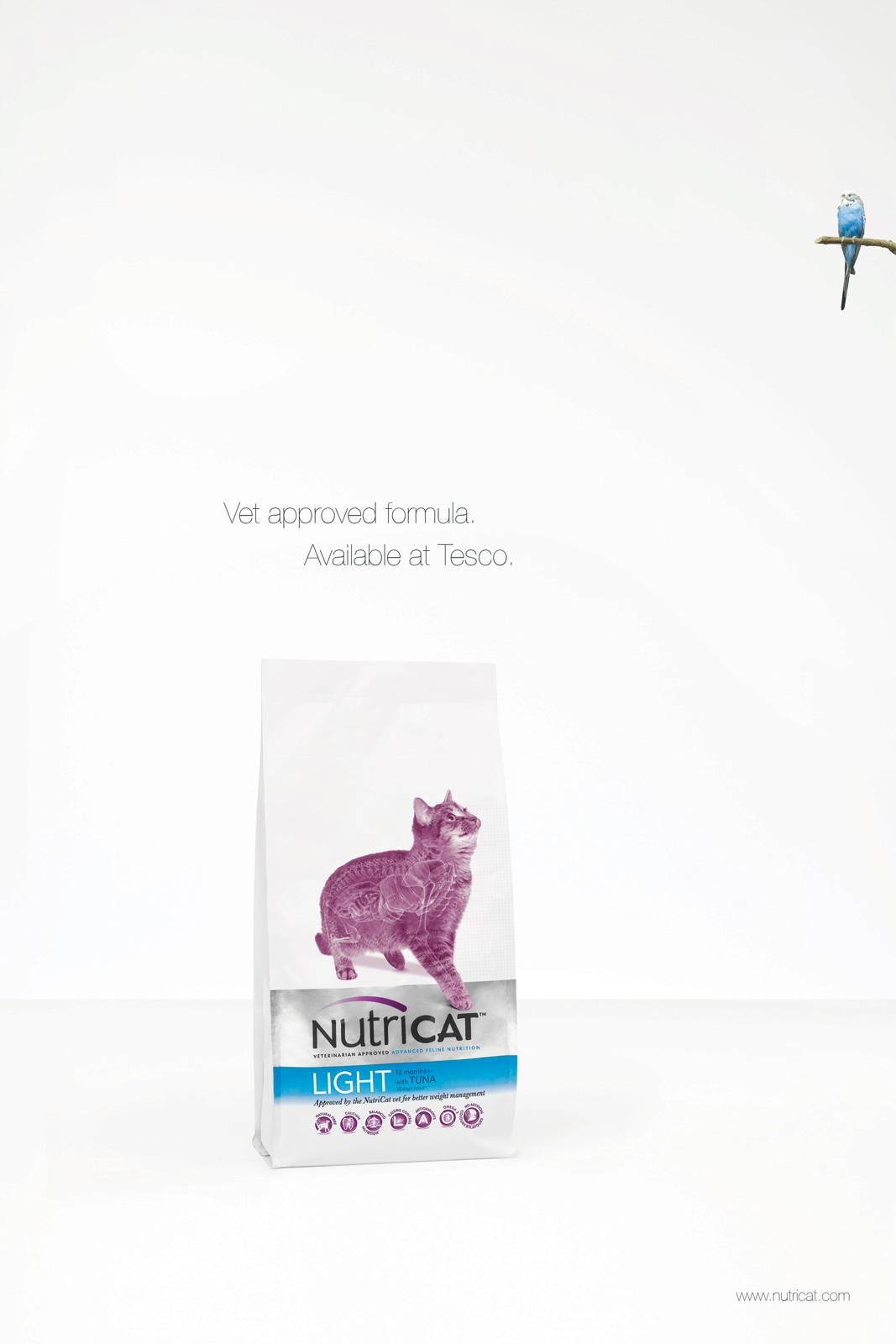 Nutricat Print Ad -  Light