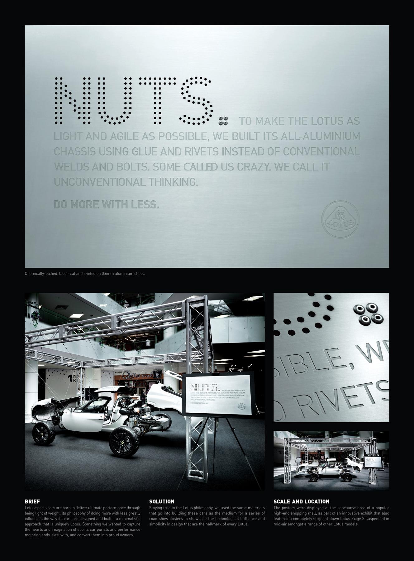Lotus Outdoor Ad -  Nuts