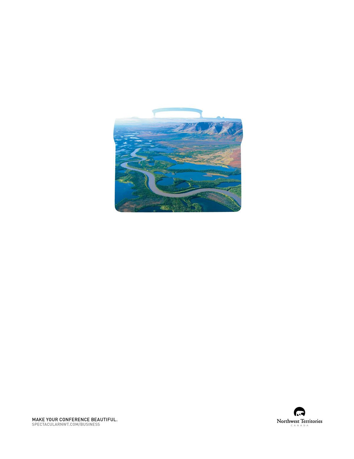 Northwest Territories Tourism Print Ad -  Briefcase