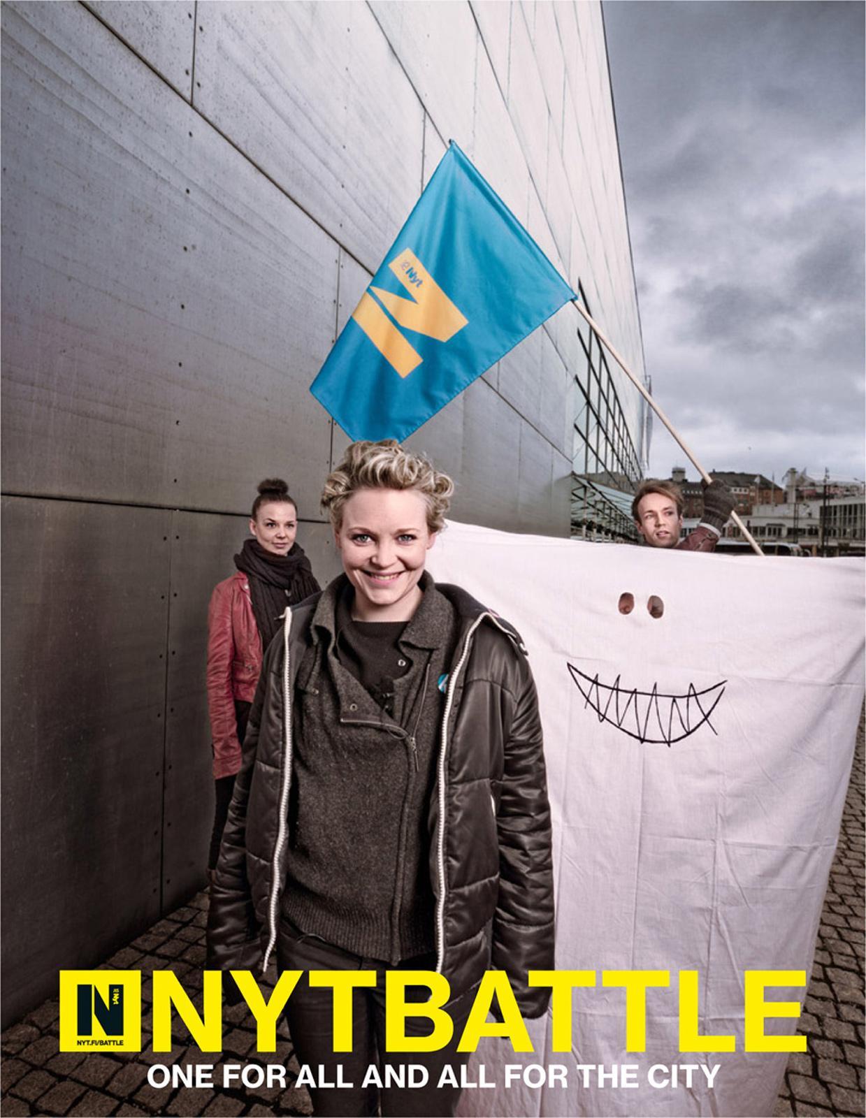Helsingin Sanomat Print Ad -  Haunting