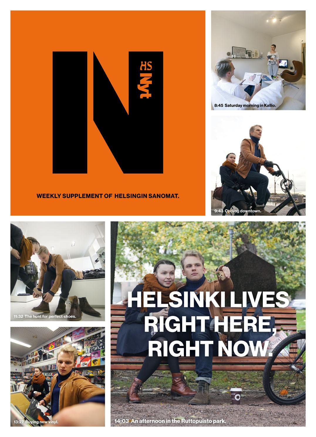 Helsingin Sanomat Print Ad -  Ordinary Saturday