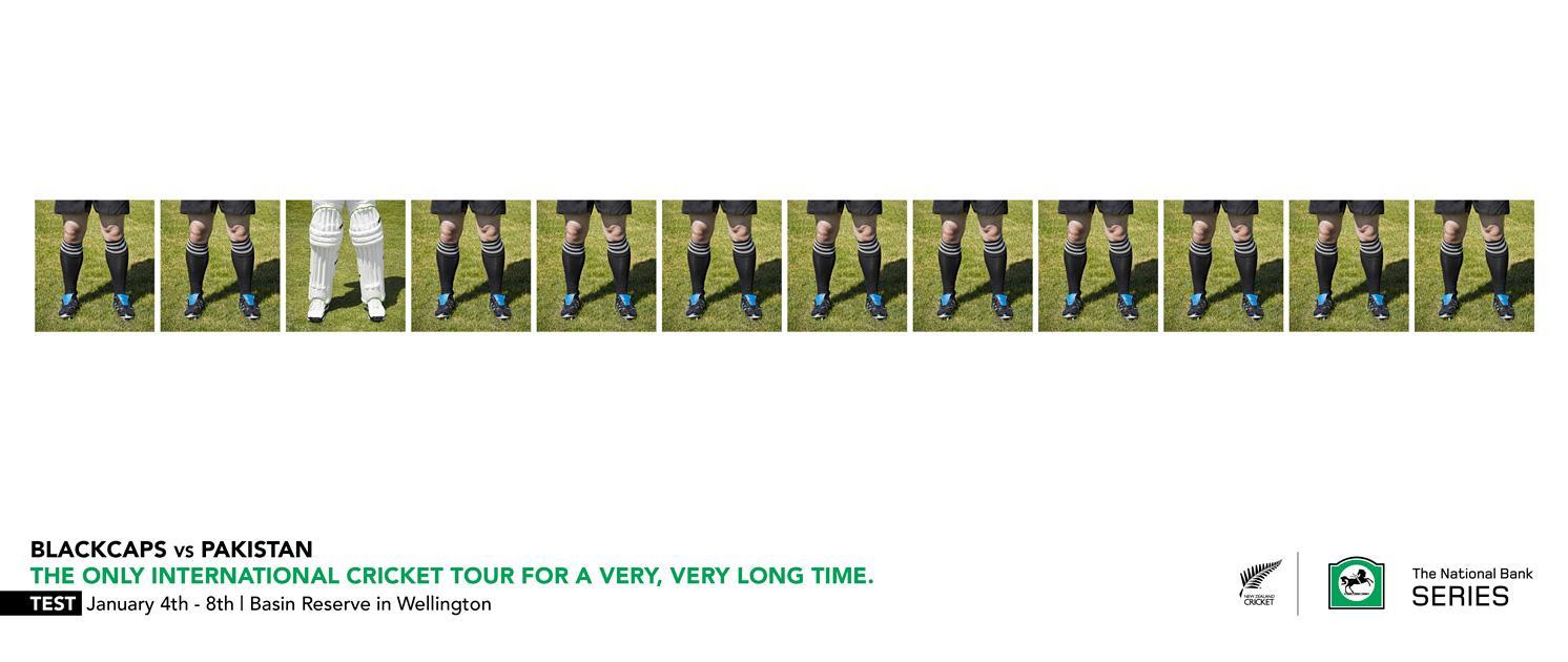 New Zealand Cricket Print Ad -  Pads
