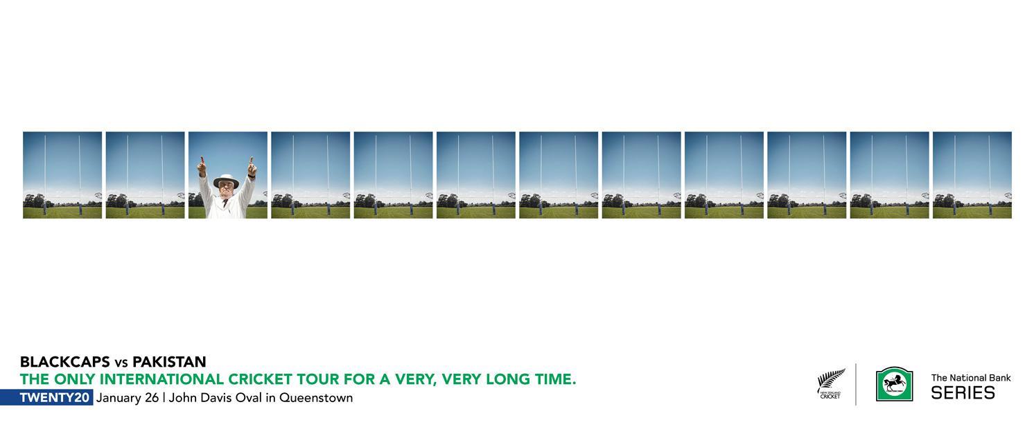 New Zealand Cricket Print Ad -  Umpire