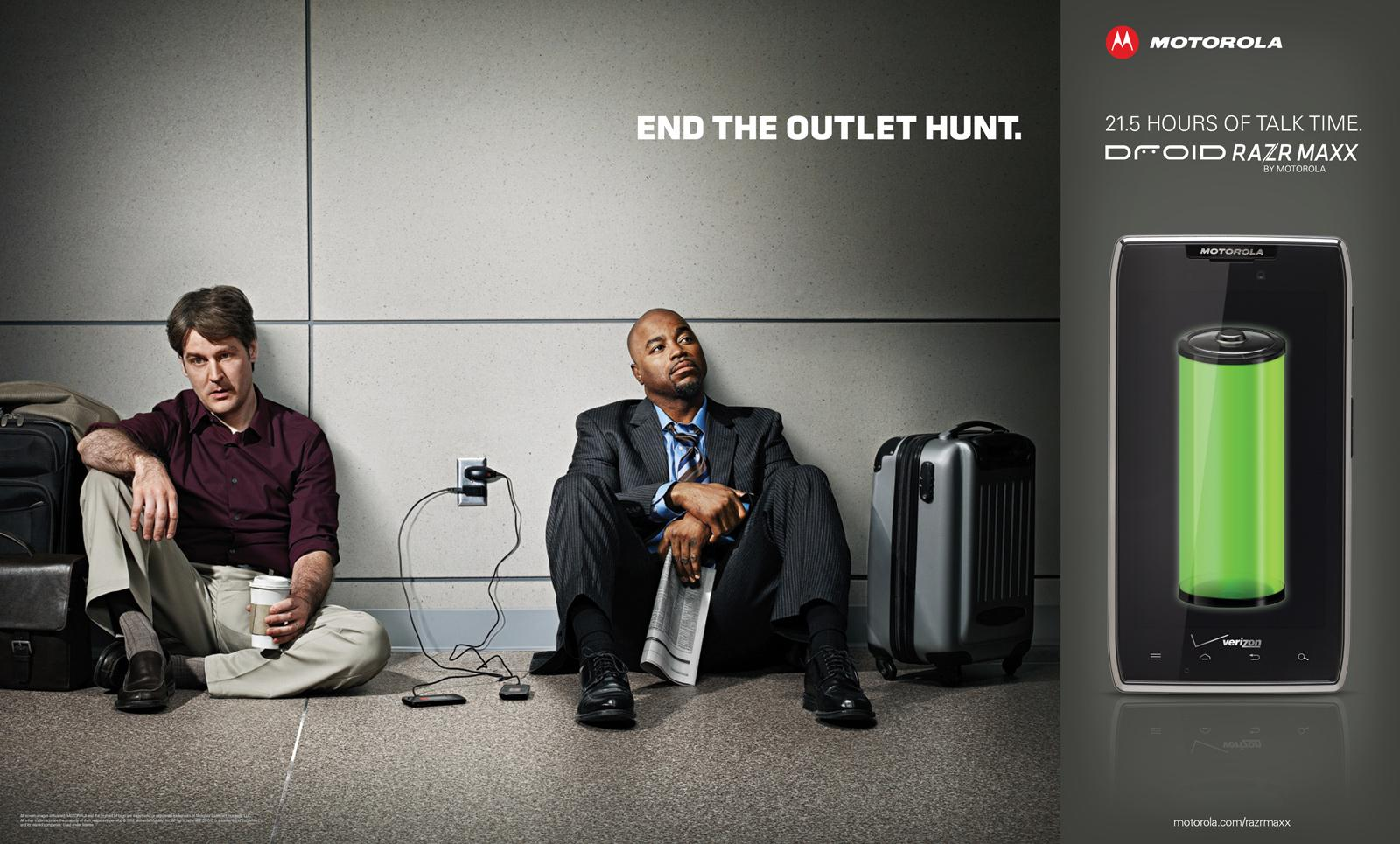 Motorola Outdoor Ad -  End The Outlet Hunt, 2